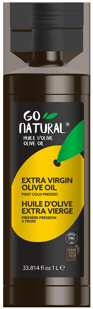 Go Natural – 100 % extra virgin olive oil