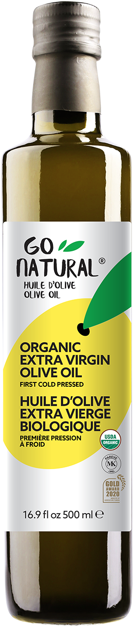 Go Natural – 100 % extra virgin Organic Olive Oil
